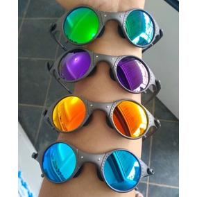 7a2fc887874c2 Oakley Mars Xmetal Com Lentes Violet Polarizadas - Óculos De Sol no ...