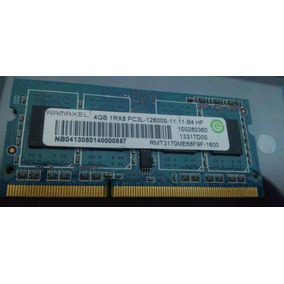Memoria Ram Ddr3-4gb 1rx8 Pc3l-12800s (20 Verdees)