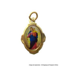 250 Medalhas De Alumínio De Nossa Senhora Auxiliadora