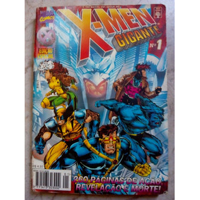 X Men Gigante Nº 1 Da Editora Abril.