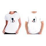Kit 2 Camisetas Casal Que Se Completa Dia Dos Namorados Top