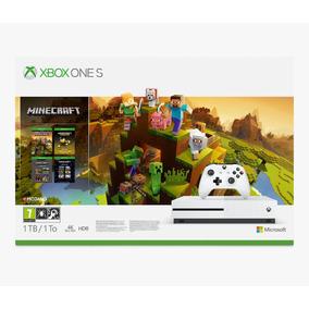 Console Xbox One S 1 Tera Microsoft 4k + Minecraft Bundle