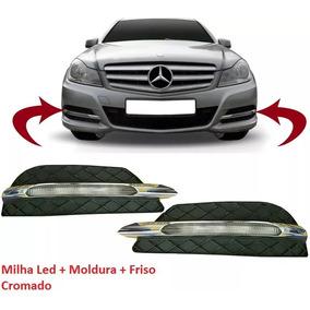 Farol De Milha Mercedes C180 Led Lado Esquerdo