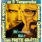 Serie Breaking Bad (1ª Até 5ª Temporada) Com O Frete Grátis