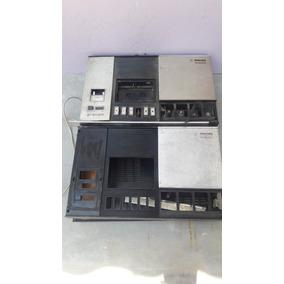 Antigo Gravador Philips 2401 Para Retirada De Peças