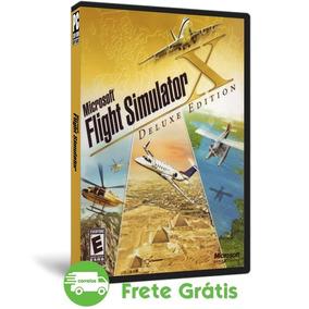 Flight Simulator X Pc Deluxe Edition Simulado De Voo (dvd)