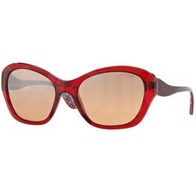 Oculos De Sol Vogue Vermelho - Óculos no Mercado Livre Brasil 51132e0d16