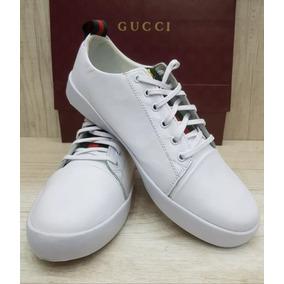 Tenis Sapatenis Gucci Ace Tigre Masculino Top Frete Gratis 6f0fef89d06
