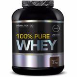 100% Pure Whey Protein 2kg Chocolate Probiótica - Envio Já!