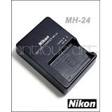A64 Cargador Nikon Mh-24 Original Camara D5300 D3300 En El14