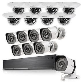 Kit Nvr Dvr Cftv Zmodo 16 Cameras Poe Hd 720p 1.0mp Ip 2tb