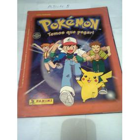 Álbum Pokémon (temos Que Pegar!) - Ano 1999 - Panini - A5