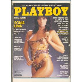 *sll* Revista Playboy N. 141 - Sônia Lima - Abril De 1987