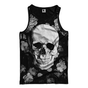 Camiseta Regata Floral Masculino - Camisetas no Mercado Livre Brasil 42a54a2c162