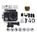 Câmera Filmadora Esportiva Prova Dágua Action Hd 1080p