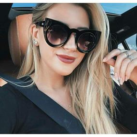 Óculos Da Moda Para Mulher Blogueiras Anitta Gatinho Cat Eye. R  39 64 c082627830