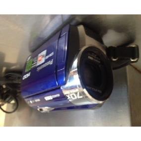 Camara Video Panasonic 60gb De Memoria Y 70 X Zoom Poco Usos