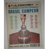 Mexico 70 Curioso Mini Periodico La Prensa.