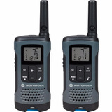 Radio Comunicador Talkabout T200br Cinza Motorola + Nfe
