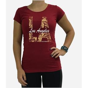 Camiseta Los Angeles Feminina - Calçados c56527f16e0