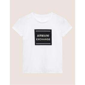 f7177f489a1 T Shirt Armani Exchange Branca - Camisetas e Blusas no Mercado Livre ...