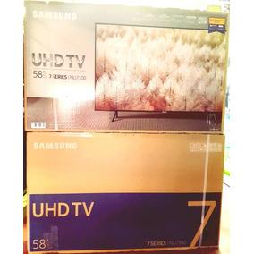 58 Samsung 4k Serie Nu7100 Ultra Delgada