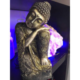 Buda Durmiente. En Poliresina 28 Cm