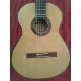 Guitarra Criolla Concierto Casa Nuñez Zd Y Funda Semirigida