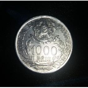 Moeda De Prata 1000 Réis 1913, Estrelas Ligadas
