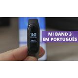 Smartband Xiaomi Mi Band 3 Em Português Original + Película