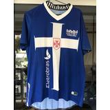 Relíquia - Camisa Vasco Cavalera Oficial 3 Penalty Azul 2012 596072067609a