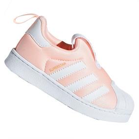 d3d2cf15f0 Tênis adidas Slip-on Superstar Originals 360 Rosa Db2882
