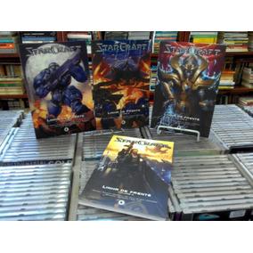 Manga Starcraft Linha De Frete 4 Volumes