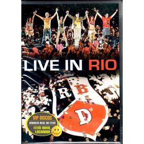 Dvd Rbd Live In Rio Rebelde - Original Novo Lacrado Raro!!