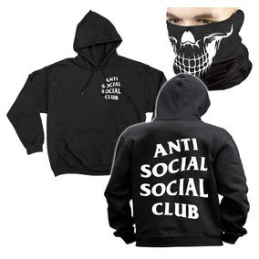 Anti Social Social Club Hoodie Sudadera Cubrebocas Muerte.   549. 18x   30  sin interés. Envío gratis d7675f6024d