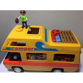 Playmobil 3148 Camper Van Home Trailer Carro Vintage 23.14.8