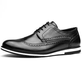 998e0c3ea Sapato Oxford Masculino Marrom - Sapatos no Mercado Livre Brasil