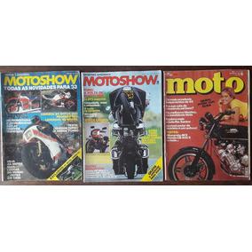 Motoshow - Coleção Com 3 Revistas De Moto A R$ 30,00 Cada.