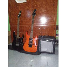 Guitarras Electrica + Amplificador + Forro + Cable