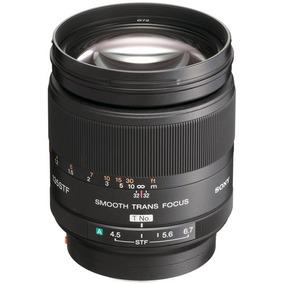 Lente Sony 135mm F/2.8 Stf + Adaptador La-ea1 Promoção