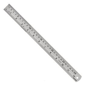 Escala De Aço Inox 600mm/24 600.006