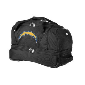 Denco Nfl San Diego Chargers 22-inch Drop Bottom Equipaje Ro