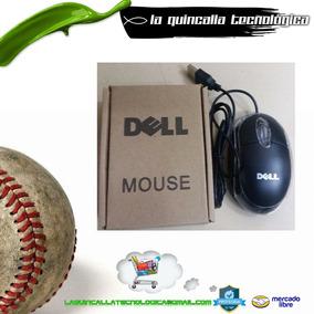 Mouse Usb Caja Marrón Marca Dell