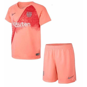 Conjunto Infantil Barcelona 2019 - Personalizada ee4b161a20356