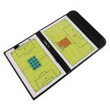 Fiturbo Plegable Fútbol Entrenador Placa Libro Conjunto C