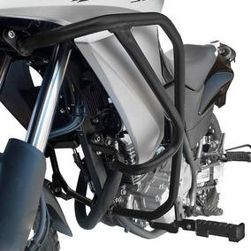 Protetor Motor Carenagem Lateral Xre 300 Com Pedaleira Scam