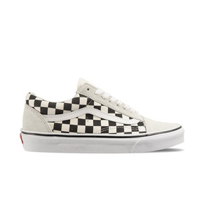 Tenis Vans Old Skool Domino Blanco Negro
