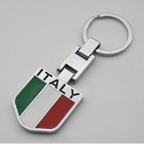 Chaveiro Bandeira Italia Fiat Uno Palio Strada Toro Siena