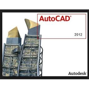 Autodesk Autocad 2012 Original + Vídeo Tutorial Instalación