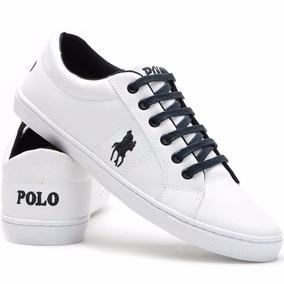 Sapatenis Polo Plus Couro Sintético